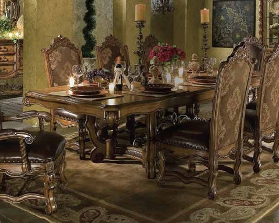AICO Furniture - Acasa Dining Room Table Set - 36002 - Part of the Acasa Collection