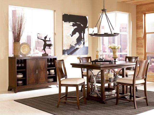 Rectangular Gathering Table 104-700R by American Drew Essex