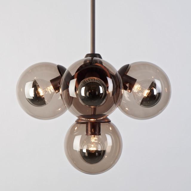 Modern Globe Pendant Lighting : Roll hill modo globe pendant modern