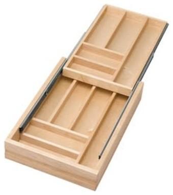 Rev-A-Shelf 4WTCD-18-1 Two-Tiered Cutlery Drawer ...