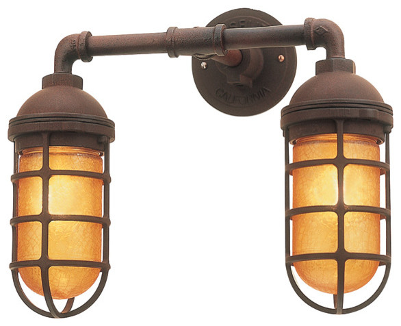 Barn Light Double Market Sconce eclectic-wall-lighting