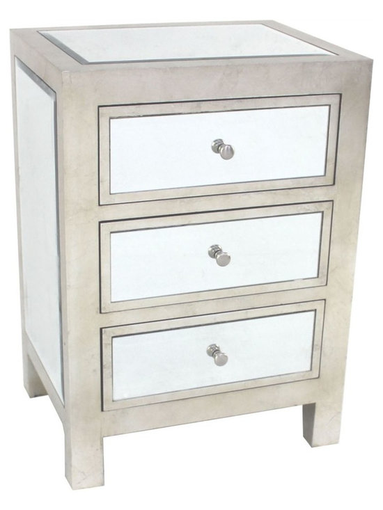 Carlyle Nightstand - 3 Drawer -