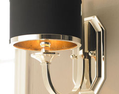 """Tuxedo"" Sconce transitional-wall-lighting"