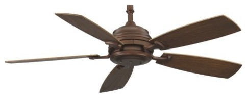 Fanimation HF6050MH Hubbardton 54 in. Indoor Ceiling Fan - Mahogany contemporary ceiling fans