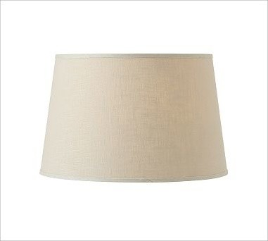 linen tapered drum lamp shade medium bisque traditional lamp shades. Black Bedroom Furniture Sets. Home Design Ideas