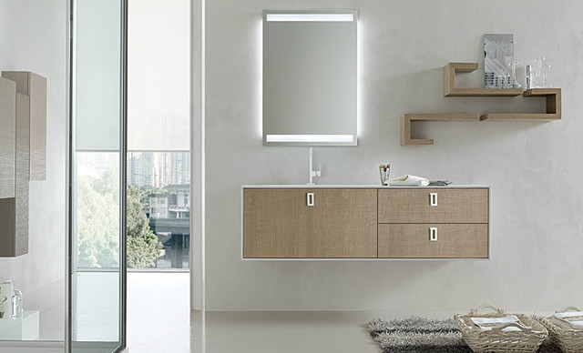 AK Series Collections - modern - bathroom vanities and sink ...