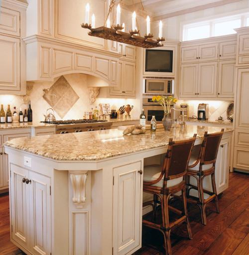 Warmth Welcoming Giallo Ornamental Granite Countertop