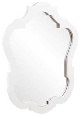 Carina Mirror, Blanco contemporary-wall-mirrors