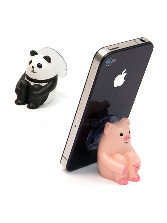 Sitting Animal Phone Stand -