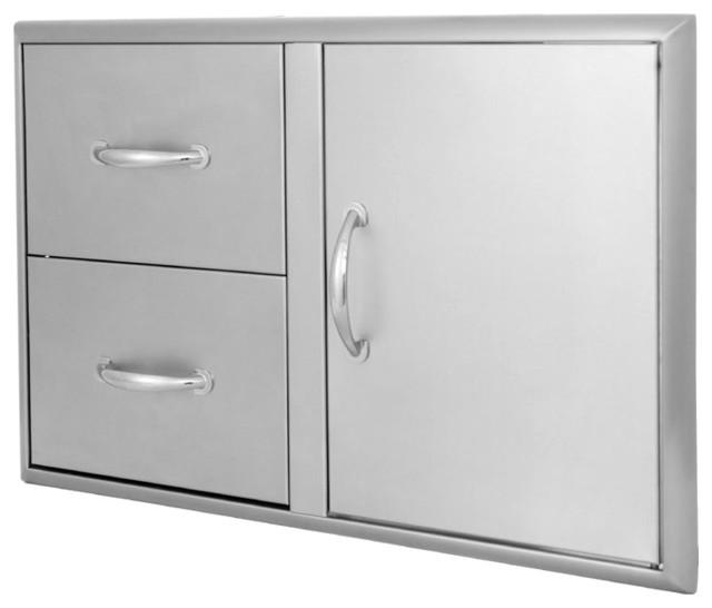 Blaze 32 inch stainless steel access door and double for 32 inch double doors