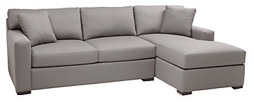 Phoenix Sectional with Chaise modern sectional sofas