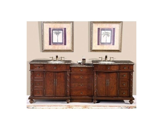 """silkroad exclusive double 90"""" Bathroom Vanity, hyp-0213-uwc-90 - silkroad exclusive double 90"""" Bathroom Vanity, hyp-0213-uwc-90 - See more at: http://www.homethangs.com/bathroom-vanities/silkroad-exclusive/p/silkroadexclusive-hyp0213bbuwc90.html"""