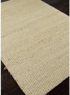 Jaipur Andes Braidley Natural Solid Pattern Jute/Cotton Rug modern-rugs