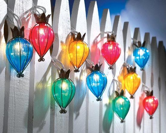 Teardrop Outdoor String Lights -