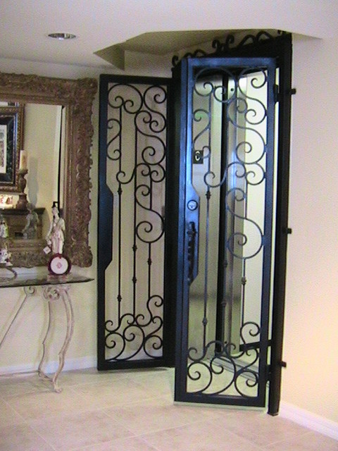 forge iron designs wrought iron elevator door