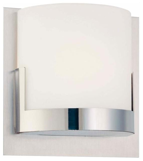 Vanity Light Bar Modern : Convex 1 Light Bath Bar - Contemporary - Bathroom Lighting And Vanity Lighting - by LBC Lighting