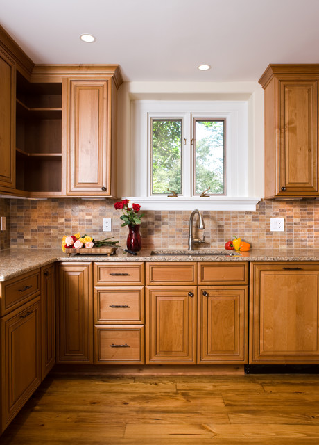 The Madeira School Kitchen Renovation transitional-kitchen