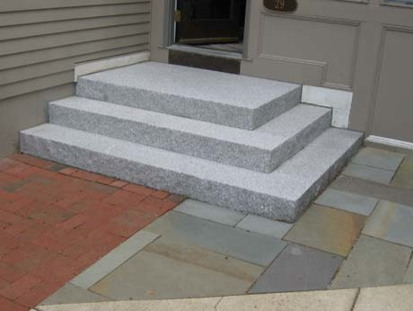 Swenson Granite Works Granite Steps Amp Treads Traditional