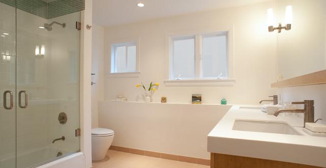 Marin Beach Bathroom contemporary-bathroom