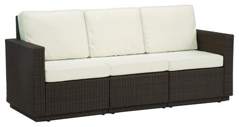 Riviera Sofa with Cushions modern-outdoor-sofas