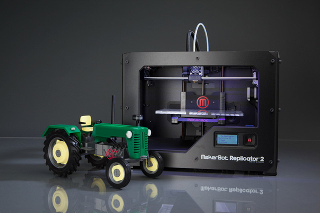 MakerBot Replicator 2 Desktop 3-D Printer home-electronics
