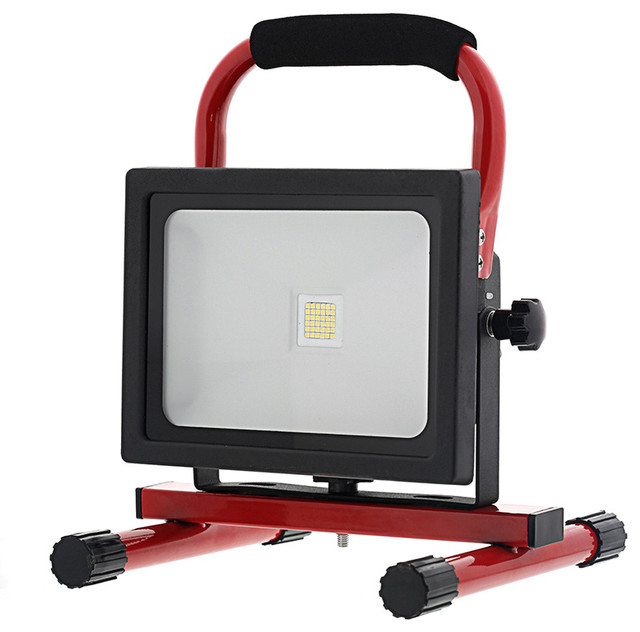 Pro Series 60 Led Cordless Rechargeable Work Light Ledwl60: 20W Portable High Powered Rechargeable LED Work Light