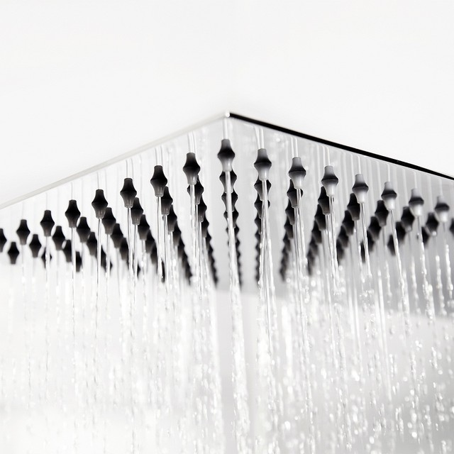 Ultra Thin Blade Fixed Shower Head modern-showerheads-and-body-sprays