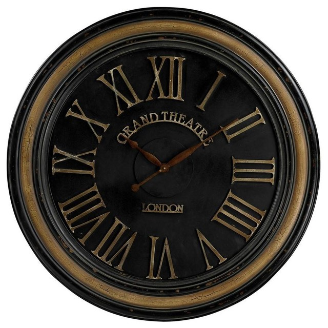 sterling industries 36 inch round large wall clock in