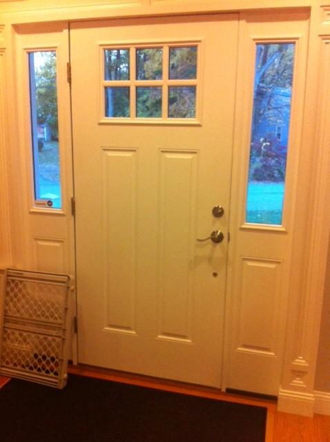 Need Help For My Front Door Sidelights