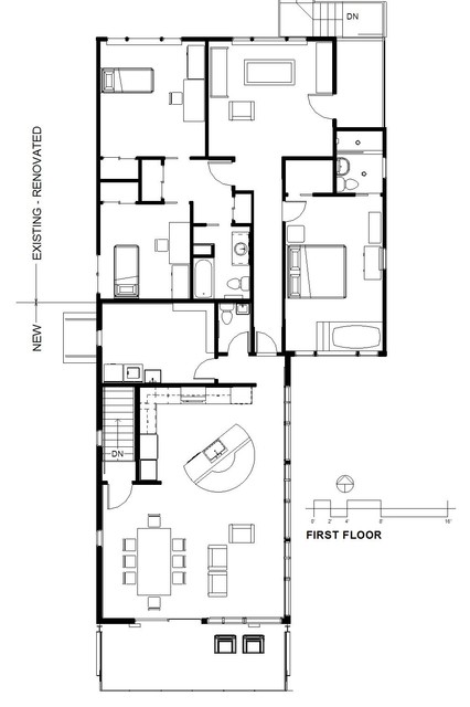 Long Island Sound Residence Floor Plan New York By