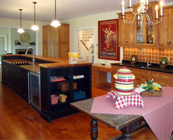 Farmhouse Defined traditional-kitchen