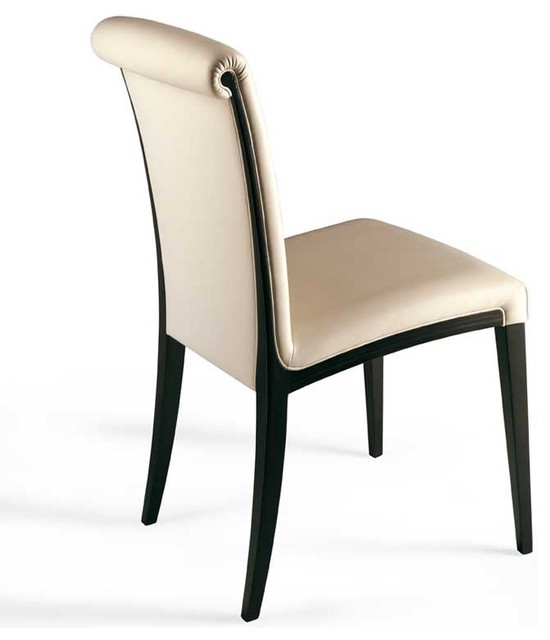 Poltrona frau samo dining chair modern dining chairs for Designer dining room chairs