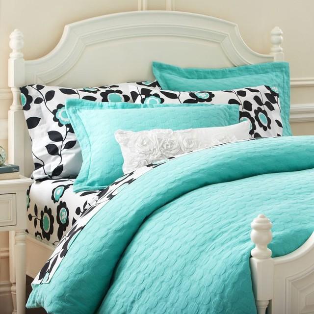 Grapevine And Aqua Bedding Sets
