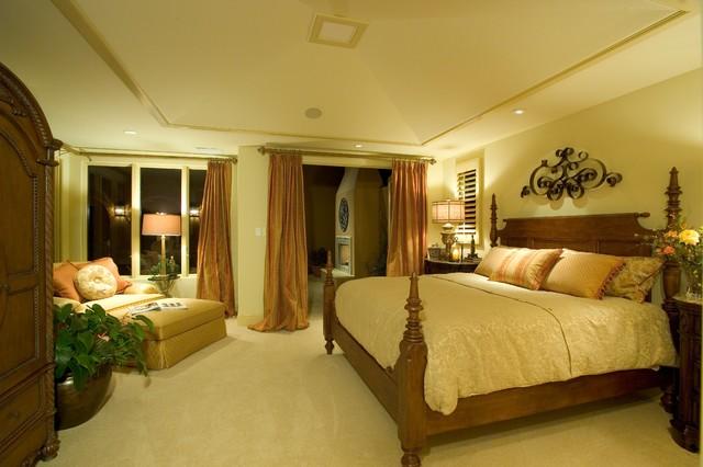 Alicante mediterranean-bedroom