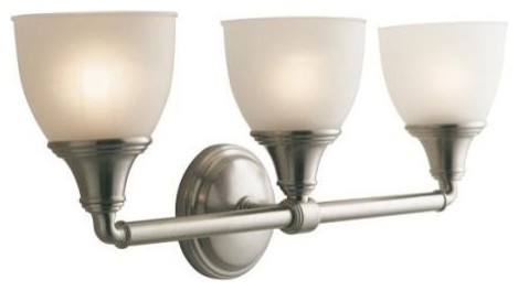 KOHLER K-10572-BN Devonshire Triple Sconce in Brushed Nickel ...