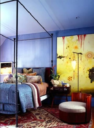 artful eclectic bedroom eclectic bedroom san