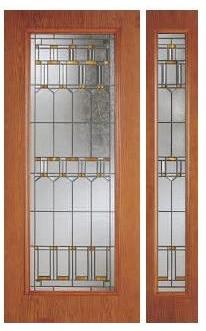 Woodgrain Fiberglass Doors contemporary-front-doors