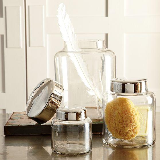 Apothecary Jars contemporary-bathroom-accessories