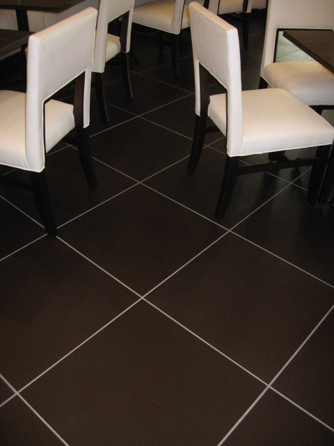 SBC Floor Tile contemporary-dining-room