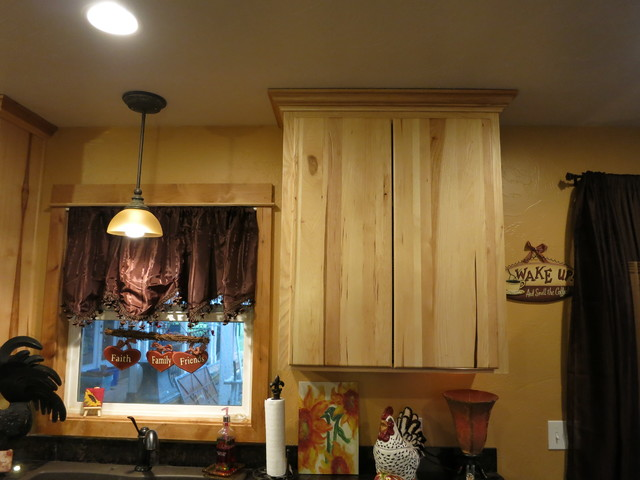 White Hickory Cabinets: Kitchen