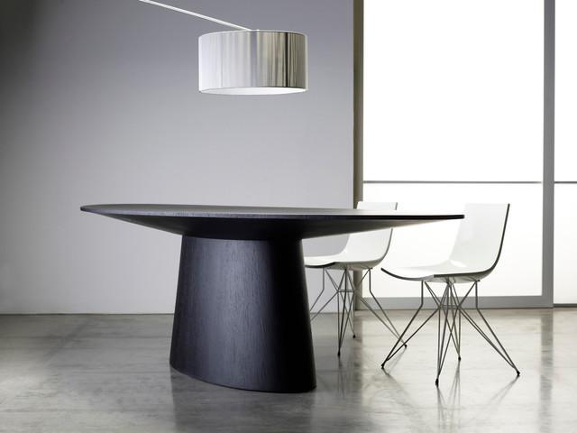 Sullivan Contemporary Dining Table by ModLoft contemporary-dining-tables