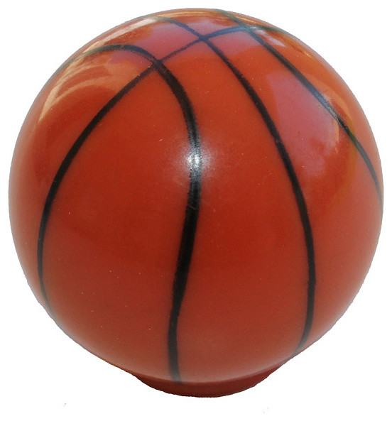 GlideRite Basketball Cabinet or Dresser Sports Knobs (Case of 25) contemporary-cabinet-and-drawer-knobs