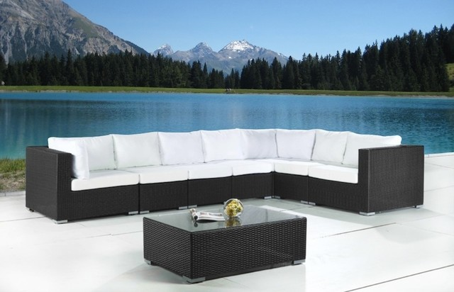 Wicker patio furniture modern outdoor sofas toronto for Modern patio furniture