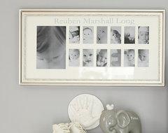 Silver Leaf First Year Frame contemporary-nursery-decor