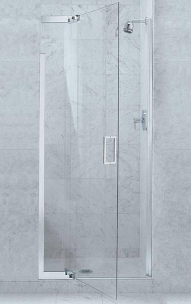 Kohler Purist Pivot Shower Door contemporary-shower-doors