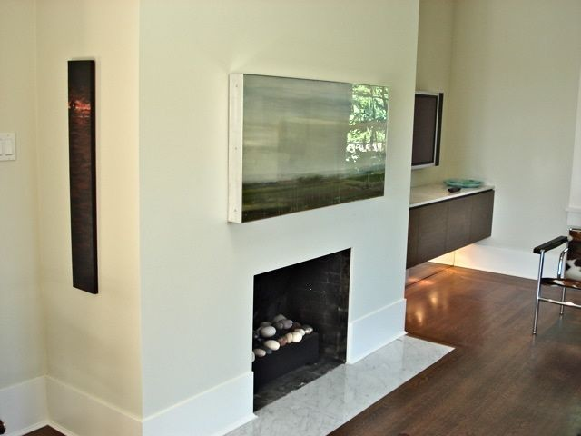 Vancouver Fireplaces by John Whipple contemporary-living-room