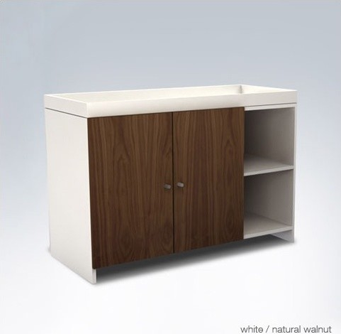 AJ II Low Changer with Doors modern-changing-tables