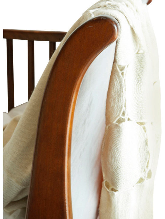 Sefte Living - Sefte Paya Crocheted Throw-Cream - Rows of hand-crochet circles bring a touch of modern detailing to the heirloom quality crochet blankets passed down from our grandmothers.
