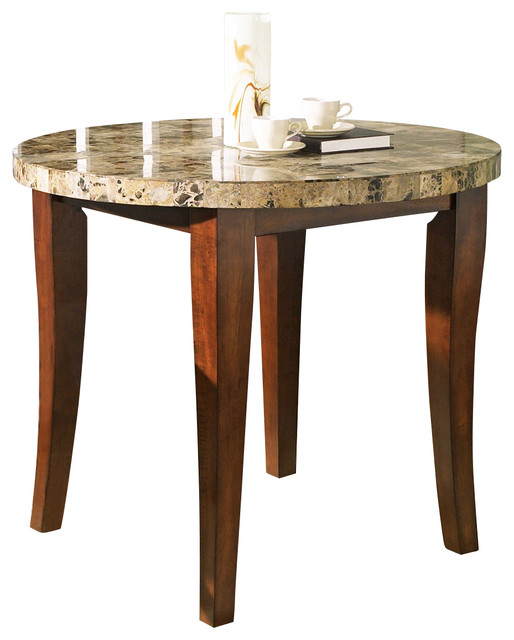 Counter Height Marble Dining Table : All Products / Kitchen / Kitchen & Dining Furniture / Dining Tables