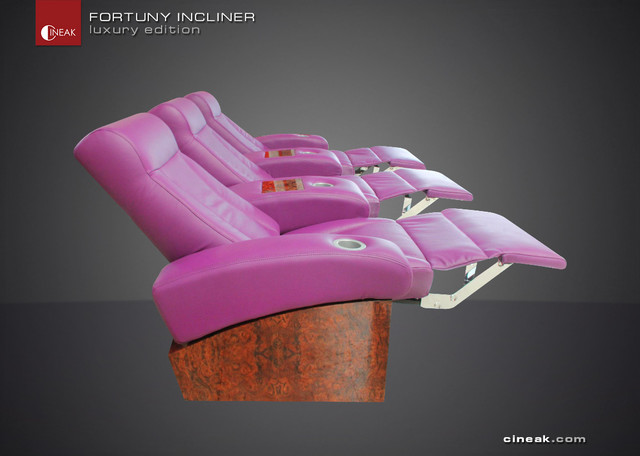 Luxury Home Theater Seats by CINEAK. eclectic